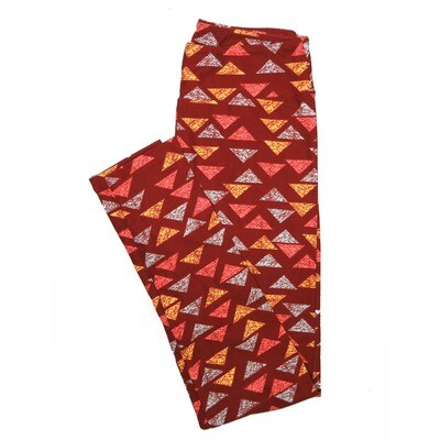 LuLaRoe One Size OS Stripes, Zig Zags and Chevrons Leggings (OS fits Adults 2-10) OS-4074-F