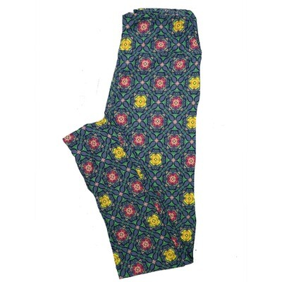 LuLaRoe One Size OS Animals Stars and Objects Leggings (OS fits Adults 2-10) OS-4092-A