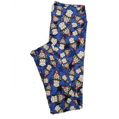 LuLaRoe One Size OS Animals Stars and Objects Leggings (OS fits Adults 2-10) OS-4094-M