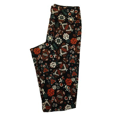 LuLaRoe One Size OS Animals Stars and Objects Leggings (OS fits Adults 2-10) OS-4026-A2