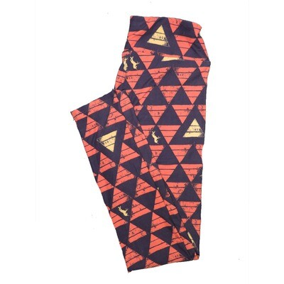LuLaRoe One Size OS Animals Stars and Objects Leggings (OS fits Adults 2-10) OS-4091-E