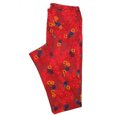 LuLaRoe One Size OS Animals Stars and Objects Leggings (OS fits Adults 2-10) OS-4097-E