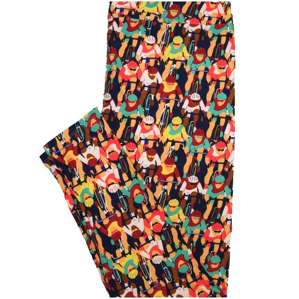 LuLaRoe TCTWO TC2 Cyclists Bicycles Ten Speed Buttery Soft Leggings - TC2 fits Adults 18+