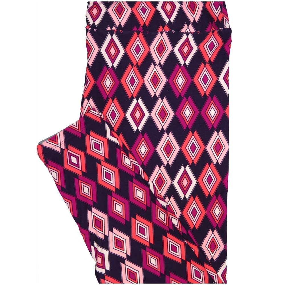 LuLaRoe TCTWO TC2 Trippy Gods Eye Diamond Geometric Buttery Soft Leggings - TC2 fits Adults 18+