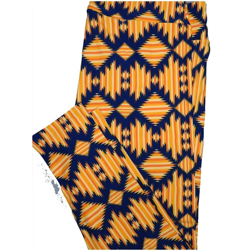 LuLaRoe TCTWO TC2 Aztek Geometric Buttery Soft Leggings - TC2 fits Adults 18+