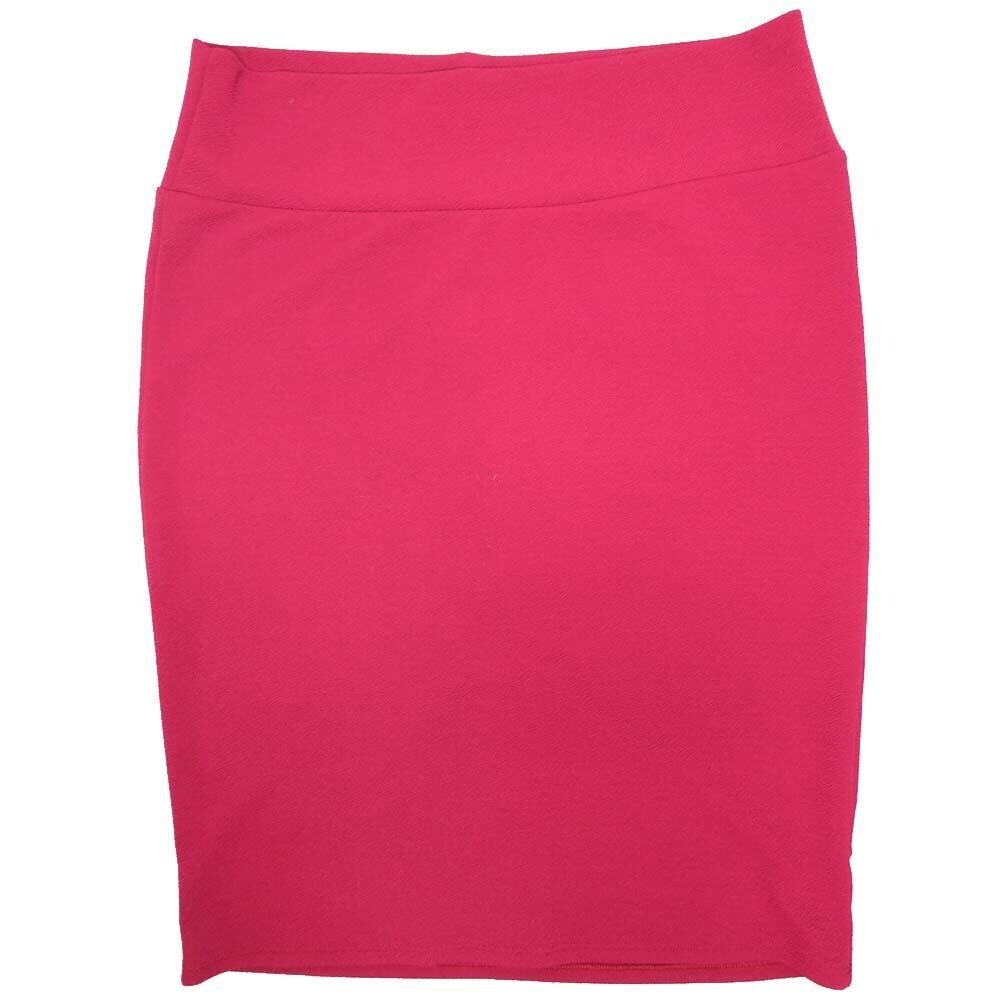Cassie XXX-Large (3XL) LuLaRoe Solid Wine Womens Knee Length Pencil Skirt Fits 24-26