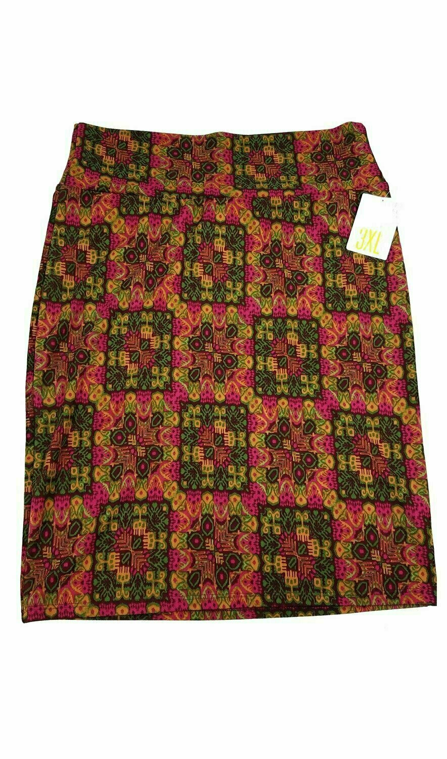 Cassie XXX-Large (3XL) LuLaRoe Womens Knee Length Pencil Skirt Fits 24-26