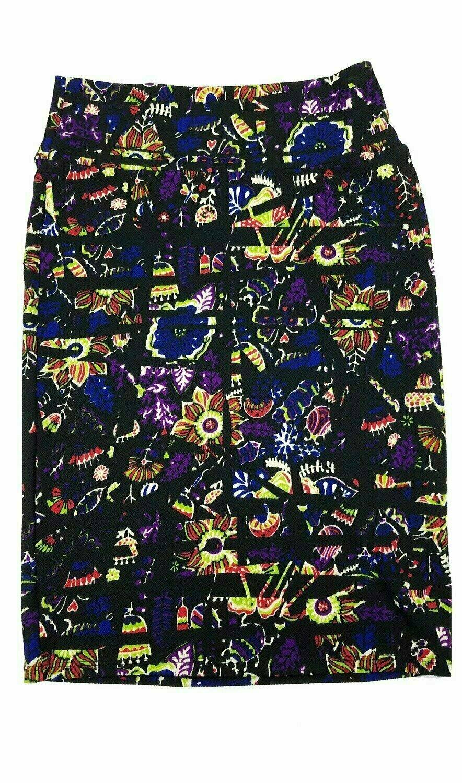 Cassie Small (S) LuLaRoe Womens Knee Length Pencil Skirt Fits 6-8