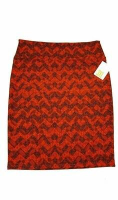 Cassie XXX-Large (3XL) LuLaRoe Womens Knee Length Pencil Skirt Fits 24-26