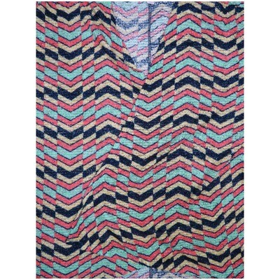 LuLaRoe Lindsay Small S Kimono Fluffy Airy Sheer and Sparkly Zig Zag Dark Gray Pink Yellow Teal Stripe Knit Light Weight Made in Vietnam 100% Polyester Small fits 00-8