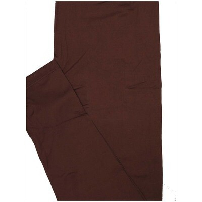 LuLaRoe One Size OS Solid Mauve (440240) Womens Leggings fits Adult sizes 2-10