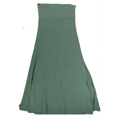 LuLaRoe Maxi X-Small XS Solid A-Line Skirt fits Women 2-4