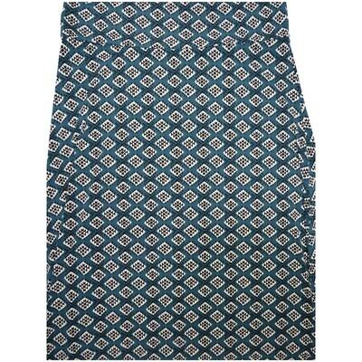 LuLaRoe Maxi XX-Large 2XL Gray Black White Polka Dot Geometric A-Line Skirt fits Women 22-24