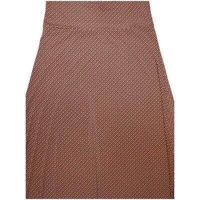 LuLaRoe Maxi Small S Micro Polka Dot A-Line Skirt fits Women 6-8