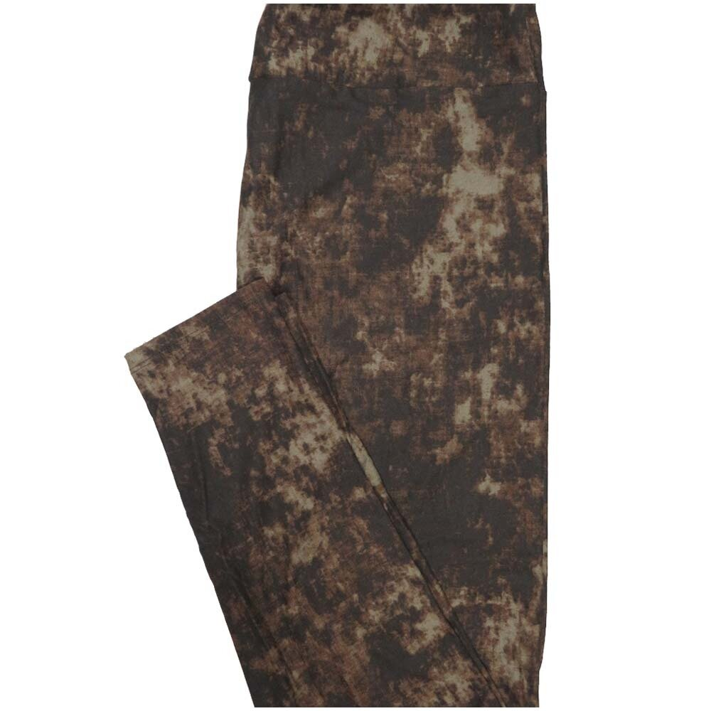 LuLaRoe Tall Curvy TC Batik Look Leggings (TC fits Adults 12-18)