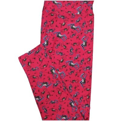 LuLaRoe Tall Curvy TC Spiders Spiders Spiders Leggings (TC fits Adults 12-18)