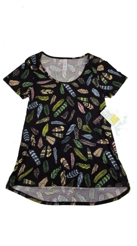 LuLaRoe Classic Tee XX-Small XXS Womens Shirt fits 00-0