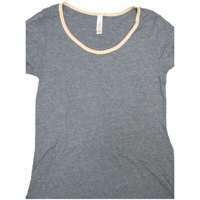 LuLaRoe Classic Tee X-Small XS Solid Womens Shirt fits 2-4