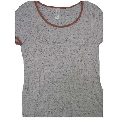 LuLaRoe Classic Tee X-Small XS Microdot Womens Shirt fits 2-4