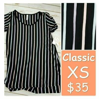LuLaRoe Classic Tee X-Small XS Womens Shirt fits 2-4