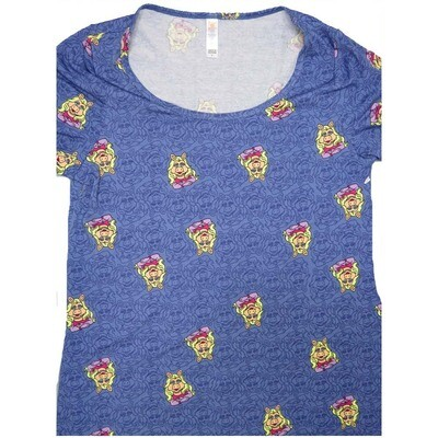 LuLaRoe Classic Tee Small S Disney Miss Piggy Womens Shirt fits 6-8