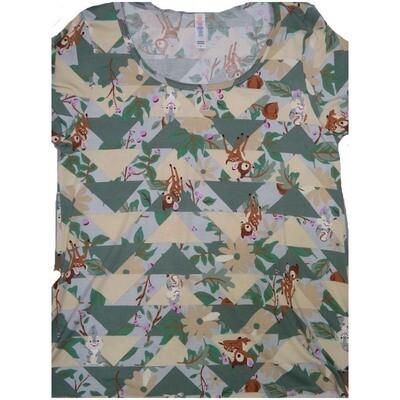 LuLaRoe Classic Tee Small S Disney Bambi Thumper Womens Shirt fits 6-8