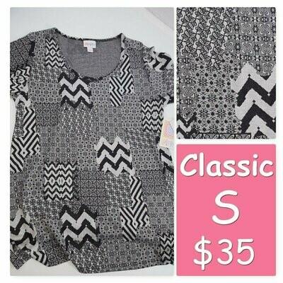 LuLaRoe Classic Tee Small S Womens Shirt fits 6-8