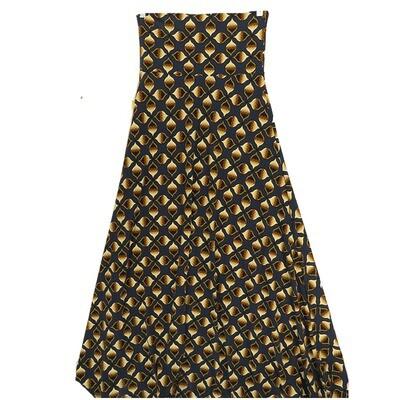 LuLaRoe Maxi X-Small XS Trippy Geometric A-Line Skirt fits Women 2-4
