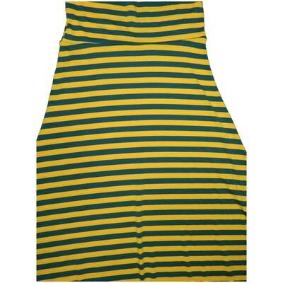 LuLaRoe Maxi X-Small XS Stripe A-Line Skirt fits Women 2-4