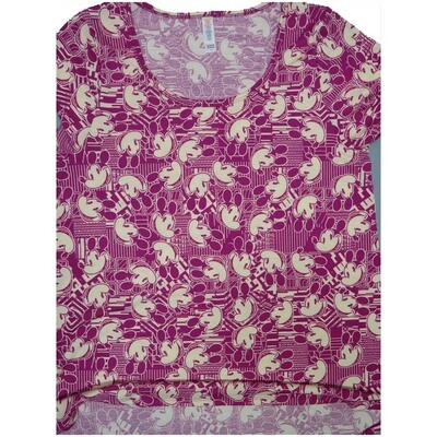 LuLaRoe Classic Tee Large L Disney Mickey Mouse Womens Shirt fits sizes 14-16