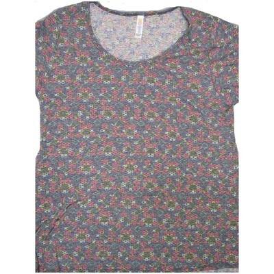 LuLaRoe Classic Tee Large L Geometric Womens Shirt fits sizes 14-16