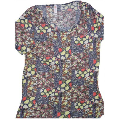 LuLaRoe Classic Tee Medium M Floral Womens Shirt fits sizes 10-12