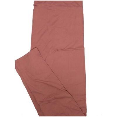 LuLaRoe Tall Curvy TC Solid Purplish Gray Womens Leggings fits Adult sizes 12-18