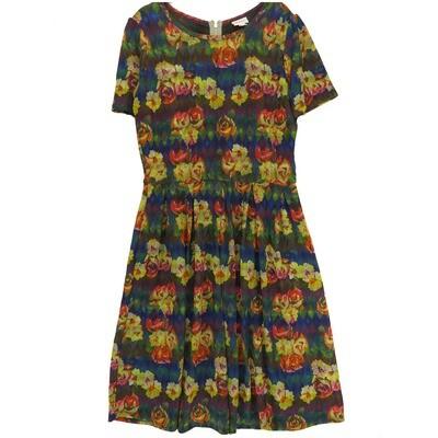 LuLaRoe Amelia X-Large XL Womens Pocket Dress for sizes 18-20