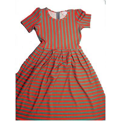 LuLaRoe Amelia X-Small XS Womens Pocket Dress for sizes 2-4