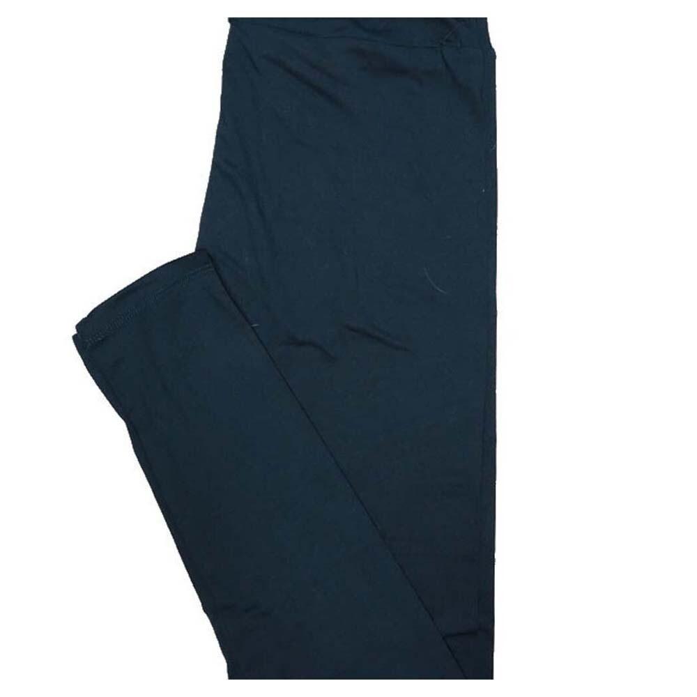 LuLaRoe Tall curvy TC Solid Navy Womens Leggings fits Adult sizes 12-18