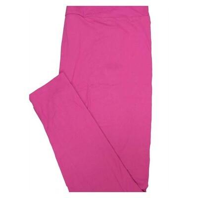 LuLaRoe Tall Curvy Solid Dark Rose Womens Leggings fits Adult sizes 12-18