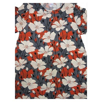 LuLaRoe CARLY X-Large XL Floral Swing Dress fits Women 18-20