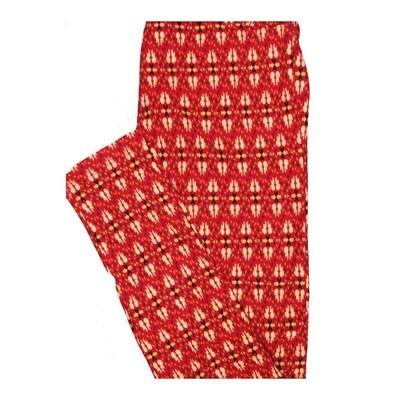 LuLaRoe One Size OS Stripes, Zig Zags and Chevrons Leggings fits Women 2-10