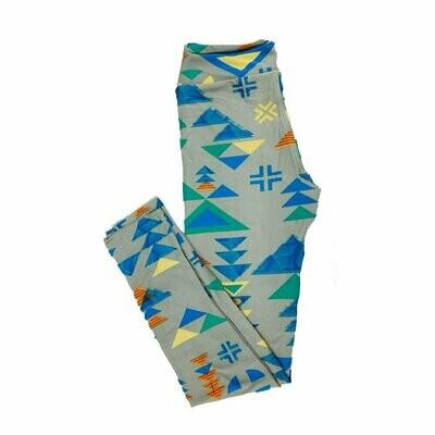 LuLaRoe Tween Geometric Fits Leggings Adult Sizes 00-0
