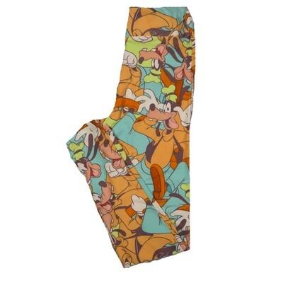LuLaRoe Tween Disney Goofy Leggings Fits Adult Sizes 00-0