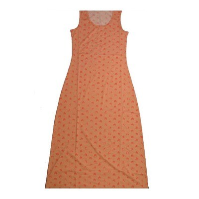 LuLaRoe DANI X-Small XS Polka Dot Chevron Stripe Sleeveless Column Dress fits Womens sizes 2-4