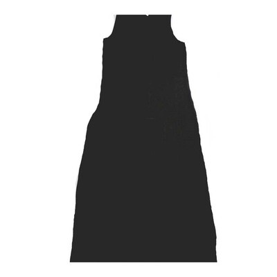 LuLaRoe DANI Medium M Solid Black Sleeveless Column Dress fits Womens sizes 8-10
