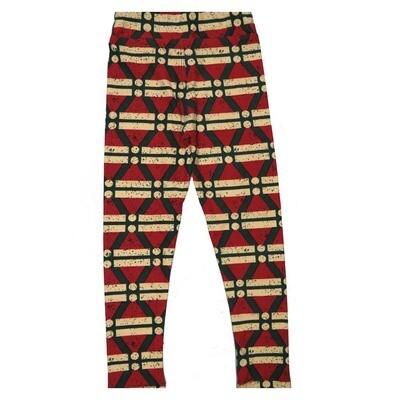 LuLaRoe Kids Small Medium S-M (SM) Stripes Leggings fits Kids sizes 2-6