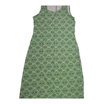 LuLaRoe DANI X-Large XL Mandala Geometric Sleeveless Column Dress fits Womens sizes 14-16