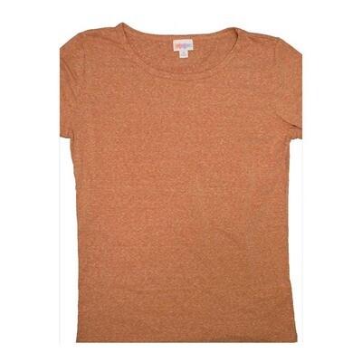 LuLaRoe GIGI Medium M Heathered Solid Tee fits Women sizes 8-10