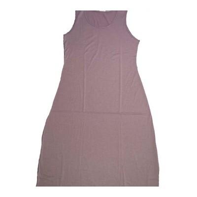 LuLaRoe DANI X-Large XL Solid Sleeveless Column Dress fits Womens sizes 14-16