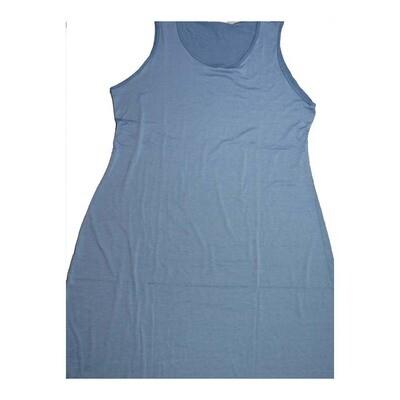 LuLaRoe DANI XXX-Large 3XL Solid Sleeveless Column Dress fits Womens sizes 22-24
