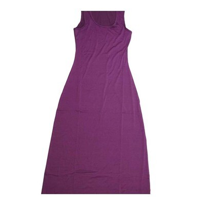 LuLaRoe DANI X-Small XS Solid Sleeveless Column Dress fits Womens sizes 2-4