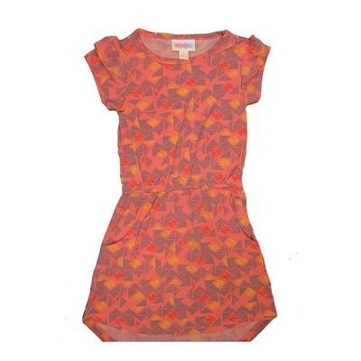 LuLaRoe Kids Mae Pocket Dress Size 2 fits Kids 2T-4